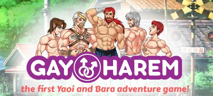 Free Gay Harem Yaoi gay porn game online